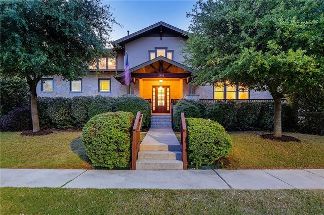 Meticulously maintained Craftsman home in The Reserve At Twin Creeks provides a flexible floor plan loaded with custom upgrades throughout. Main floor living includes a floor-to-ceiling native stone fireplace, master bedroom retreat, guest bedroom/study, and a cooks kitchen with granite counters and stainless appliances. Covered patios overlook private backyard with mature landscaping & beautiful in-ground pool.  Second living area upstairs shares two over-sized bedrooms, each with their own private bath.