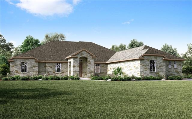 This is one of our most popular plans and is the same plan as the model. It is located on a 1.01 acre home site with plenty of room between homes. Backed up to true privacy in a cul-de-sac with part of the home site going into the woods.  This home site is still big enough for a pool.   Features included SSl appliances, granite counter tops throughout, wood flooring, some tile and carpet, 8 ft interior doors. Take a look outside to see the cathedral ceiling outdoor covered patio with the fireplace.