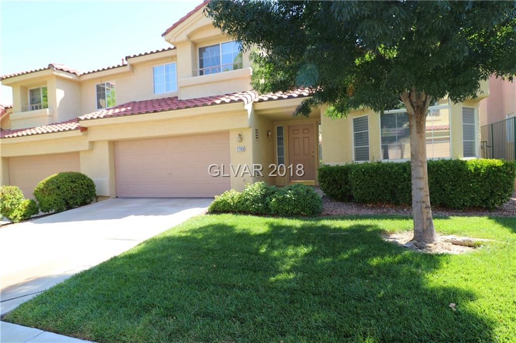 Immaculate Townhome on Premium Interior Lot! Sunny Kitchen w/Hardwood Flooring, Granite Counters w/Beveled Edge Detail, Menu Desk, Brkbar, Pantry, & Nook w/Bay Window. Spacious Great Room w/Vaulted Ceiling, Hardwood Flooring, & Gas FP, Loft w/CF, Gas FP & Balcony. D/STRS Master Suite w/W/I Closet & New Carpet, & Two Upstairs Secondary Bedrooms. Custom 2-Tone Paint, Alarm, Private Fenced Backyard w/CV Patio, Gated Community w/Pool, & so much more!