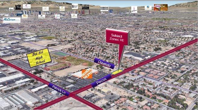 S Pecos Road, Las Vegas, NV 89120