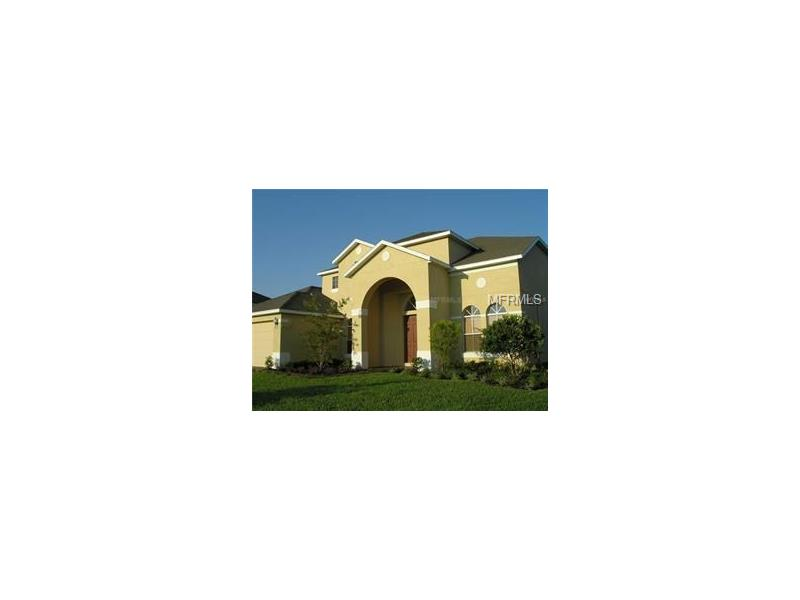 Available for immediate move in. Enjoy Florida living in this Tuscan themed Guard Gated Community with community pool, walking trail along lake conservation area, playground ,2 tennis courts, 2 basketball courts, soccer field, baseball diamond, sand volley ball, club house, and  splash fountain. Walking distance to high school and 22+ mile West Orange Bike Trail as well as Publix , shopping and restaurants. This large home has room to roam! Features 5 bedrooms and 3.5 bath large home . Enjoy your large covered and screened porch which overlooks pond and conservation area and walking trail. Kitchen features beautiful granite counter tops with a large walk in pantry as well as a butler's pantry. Has separate living room, dining room and family room, office as well as an eat in kitchen.  2 bedrooms are on first floor with a Jack and Jill bathroom which is great for in laws  or guests . Upstairs features large master suite with roman tub, 2 additional bedrooms and a loft.