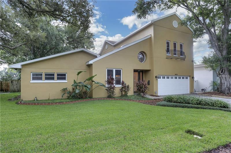 LOCATION IS EVERYTHING!  Easy access to airport & shopping via Westshore Blvd.  Walking proximity to South Tampa's blue-ribbon schools and community features such as the Coleman track & field & Interbay Public Pool.  5-minute drive to Plant High School.  The original home was built in 1960 on an oversized lot and in 2007 the home more than doubled in size when 2800 sq. ft. of new construction was added by its Architect-Owners, resulting in a spacious haven for family, friends, and entertainment!  Features & highlights include newly restored travertine floors, large open kitchen / dining areas, formal living room with wood-burning fireplace & vaulted ceilings, master bath with jetted tub & newly renovated walk-in shower, 250 sq. ft. bonus room (for den, office, nursery, gym, gaming, art studio, etc.), and at the activity heart of the home is an oversized family & entertainment room that leads directly to the huge outdoor pool / spa / deck area in a screened enclosure.  This home is currently unoccupied, making viewing appointments and move-in convenient & unobstructed.