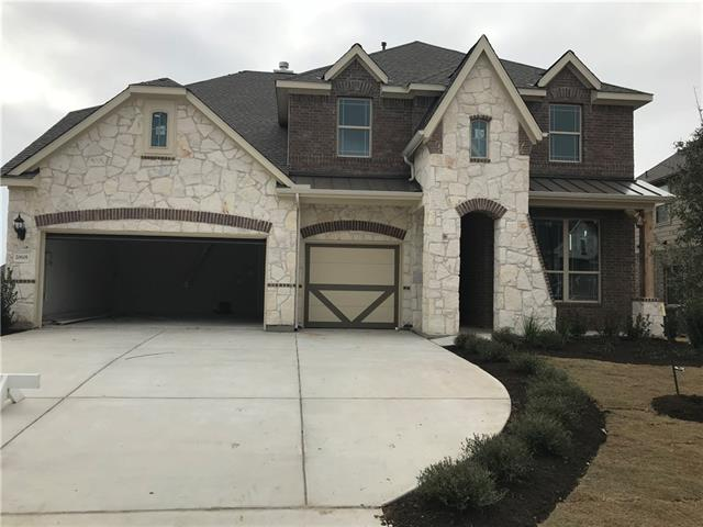 Two-story Dartmouth design, generously offers Study with French doors, Game Room, 2-story Family Room, huge Kitchen Island, fire place, Covered Patio, and 3-car garage.