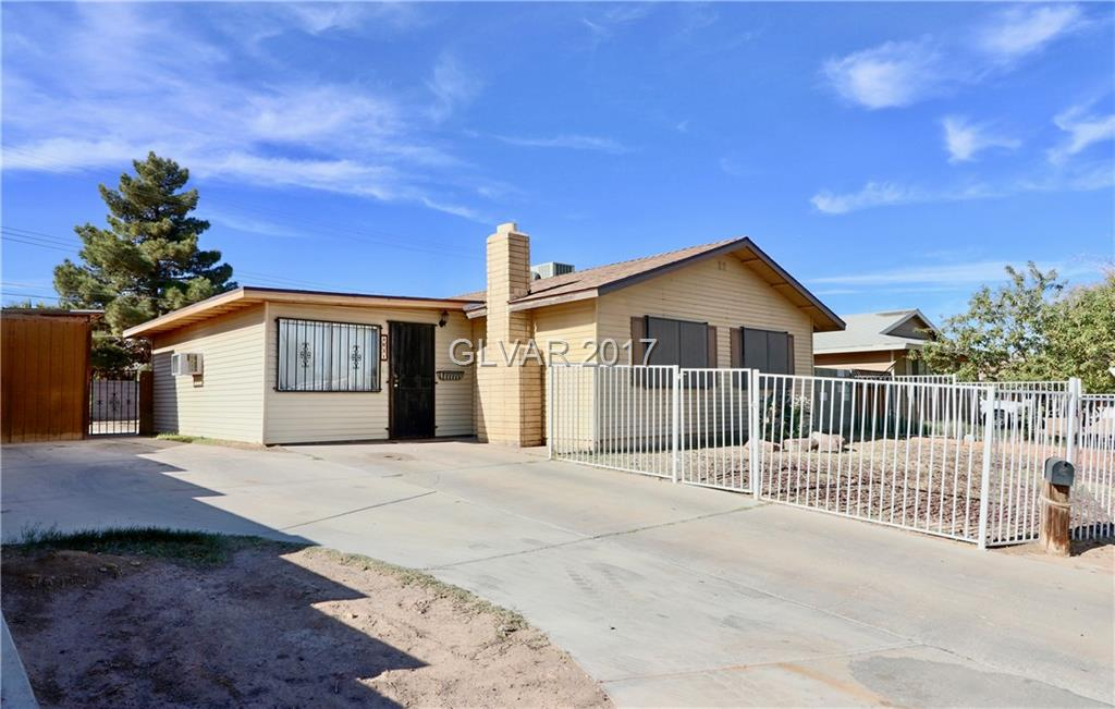 Great home just outside of Henderson. Single Story, 3 Bed, 2 Bath w/large fenced yard. Living room w/ceiling fan & wood fireplace. Den is a converted garage w/ceiling fan & wall mounted refrigerated air. Kitchen w/solid surface counter-tops & matching black appliances. Spare bedrooms w/mirrored closet door & ceiling fans. Tile flooring throughout. Backyard w/patio & separate storage building. BRAND NEW ROOF W/WARRANTY!
