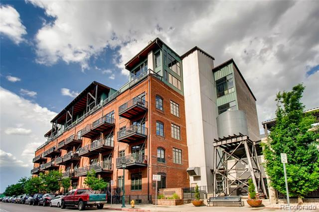 The best location in the building! Historic WaterTower Lofts is located in the heart of Downtown Denver & features 1 bed, 1 full bath, kitchen, living room, balcony & 1 reserved parking space.  Vintage charm thoughtfully and tastefully blended w/all the modern conveniences for today's busy lifestyle. Gorgeous original exposed brick & beams as well as beautiful hardwood floors throughout.  Functional yet elegant, the open kitchen features slab granite counters, tile backsplash, island, updated pendant lighting & all appliances are included.  The full bath features a slab granite counter w/dual vanities, tile floor, washer & dryer (also included). The living room space has vaulted ceilings, balcony access & is open to the kitchen.  Enjoy people watching from your spacious, private balcony.   A short distance to nightlife, parks, shopping, dining, entertainment and more. Just lock up and go!  This unit is truly something special. Don't miss your opportunity to call it yours today!