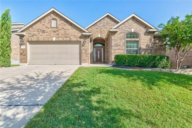 Better than New! Gorgeous 4 Bedroom Home with Massive Extended Patio, Pergola, Fire Pit, Built in Grill and Kitchen!! All Bedrooms have Walk in Closets, Soaring Ceilings and Crown Moulding Throughout.Living Room features a fireplace, Built In Bookshelves and Surround Sound Master has a huge Walk In Closet. Double Sinks, Separate Shower and Linen Closet. Highly Sought After Falcon Pointe Community, Close to Great Schools, Shopping and quick commute. All the Upgrades in this Beautiful Move in Ready Home!