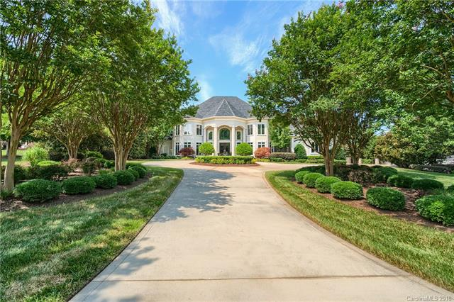 This Stunning Arcadia Built Golf Course Estate sits on Over an Acre in the Heart of Ballantyne. From the Soaring Grand Foyer and Sweeping Staircase, to the Chef's Kitchen and Separate Full Bar, you will Entertain like a Celebrity. The Great Room Features 20+ ft Ceilings and Opens to an Exquisite Covered Veranda with Beautiful Views of the Pool, Hot Tub and the 3rd Hole of Ballantyne Country Club Golf Course. The First Floor Master Suite Features Access to Covered Veranda, Separate Walk-In Closets, Two Water Closets, and Spa-Like Shower. Finishing off the First Floor is the 2-Story Library Equipped with a Beautiful Fireplace and Stunning Built-Ins. Whether you are Hosting a Small or Large Group, the Media Room, Wine Room and Workout Space in the Finished Basement are Sure to be a Crowd Pleaser. The Second Level Offers Three Additional Bedrooms and Baths. Video: https://vimeo.com/dronemediasolutions/review/274523740/307662b5f1