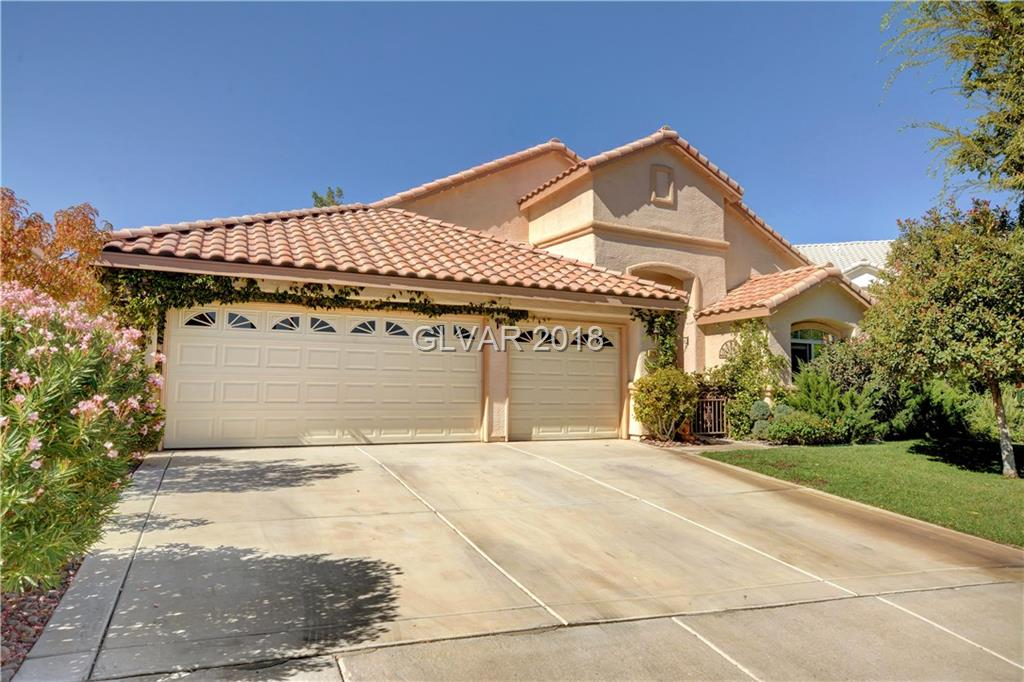 Beautiful,large open floor plan,single story home.Located in the Carriage Club of Green Valley Ranch.Great curb appeal.Large park like back yard includes covered patio and gazebo.Unique floor plan with large double master suites.Open kitchen w/wrap around bar, high ceilings,3 sided see through custom finished fireplace.3 car garage.Short walking distance to the District,GV Ranch Casino,Amphitheater,Pool,Parks,Library.Top Rated School District.