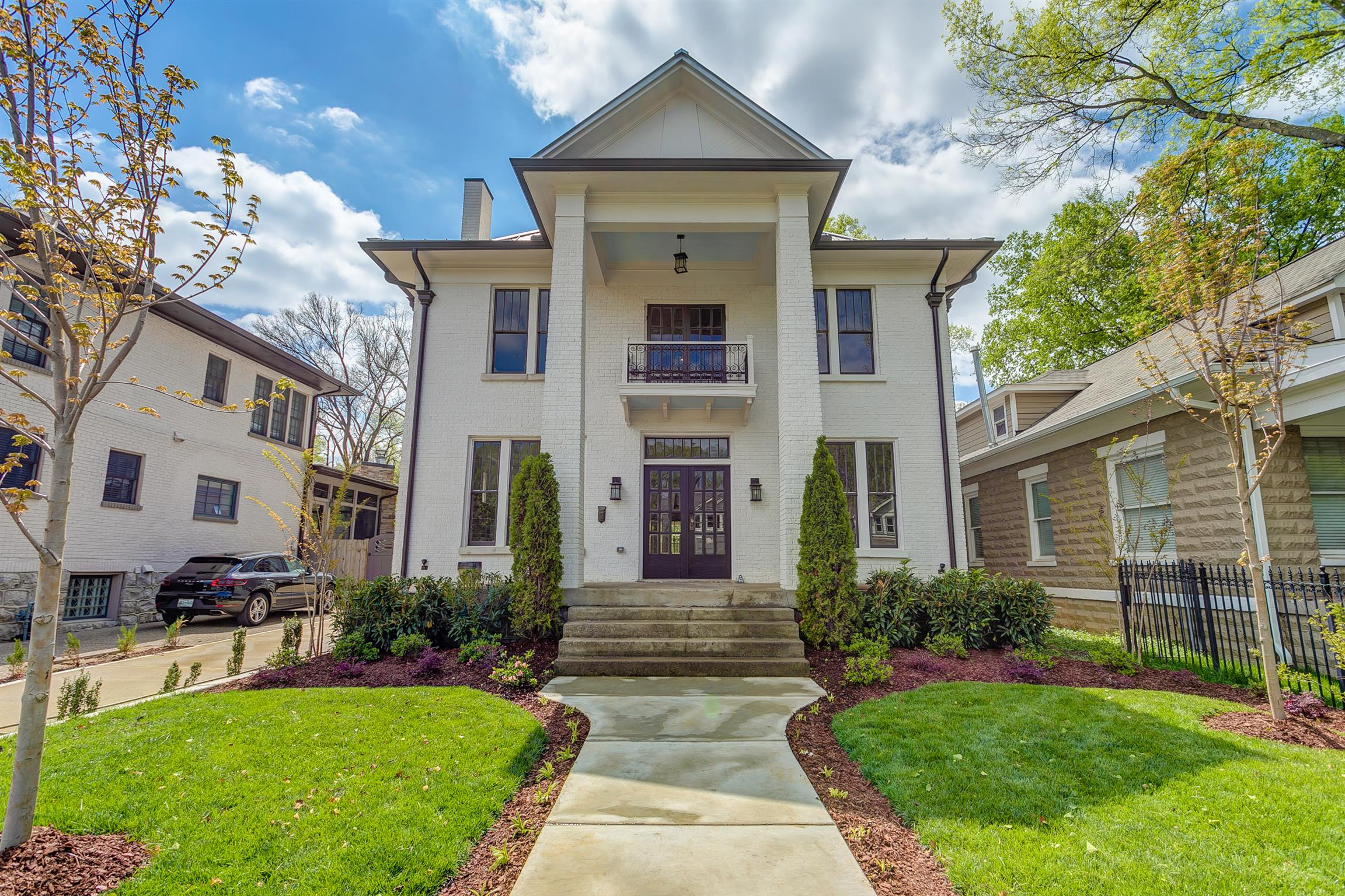 Historic charm abounds in this beautiful 2017 renovation. New electrical, plumbing, 3 HVACs, tankless water heater w/ separate water heater for kitchen, spray-foam insulation throughout, smart thermostats, metal roof, 2 indoor &1 outdoor fireplaces. Luxury kitchen appliances. Excellent interior/exterior entertaining w/ accordion doors and windows!