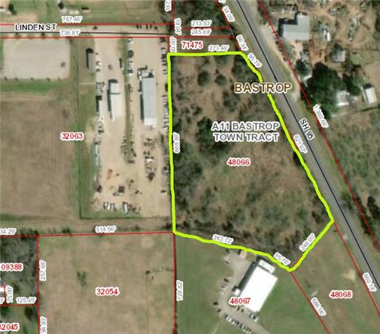 Amazing opportunity! 7.397 acres. +/-716 feet of State Hwy 95 Frontage in Bastrop City Limits.  Rare Commercial Property Zoned Light Industrial. It's also ideal for 2nd-tier commercial-retail development. City Permits needed. Water/Sewer/Electric available. Property situated between Bastrop & Elgin. 40 minute drive to SE or NE Austin. Estimated SH 95 traffic counts is +/-18k daily. County Population +/-84k. 30 minute Drive Population +/- 183k. Survey Available. Save & Hold or Buy & Build! Call Agent.