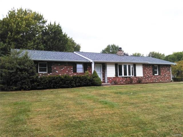 Lots of potential in this Waterloo home! This home features over 1500 square feet of living space including 3 bedrooms, 2 baths, wood burning fire place in the living room, separate dining room, 2 car attached garage and a master suite.  Call today before this one passes you by! This is a Fannie Mae HomePath property.   Buyer to verify all MLS data including but not limited to sq feet, measurements, features, exemptions/taxes, schools, etc..