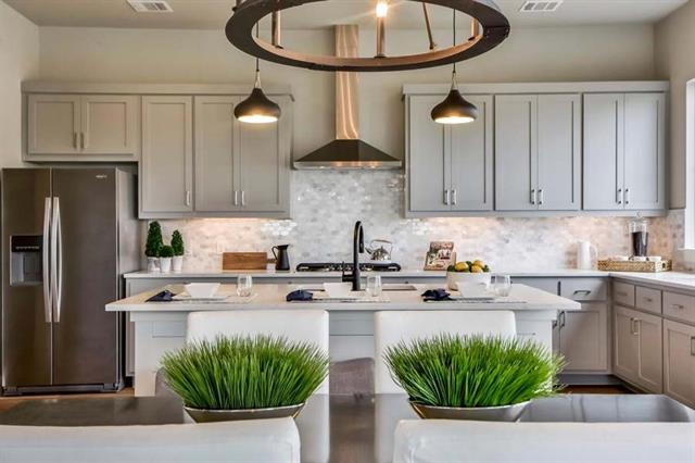 Custom-built home by Sendero Homes in gated, 25-home Modern European Farmhouse concept community. Exceptional finish out, energy efficient features and surrounded by nature preserve. This two-story model home has an open floor plan for entertaining and located in the heart of Four Points near 2222 & 620 w/easy access to shops & restaurants. ZONED FOR THE TOP-RATED LISD & VANDEGRIFT HS. 5 homes & 16 custom to be built's to choose from w/varying floor plans & exterior elevations. Call us to schedule a tour!