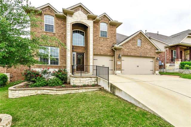 Buyers will LOVE this home: Charming Modern Farmhouse decor; lots of wood floors; 2-story Family w/ fireplace & open to Kitchen; Master down; Awesome built-ins @ master closet stay! (wall of unattached cabinets @ master bedroom do not stay); Big game room/Media room upstairs in private wing; Houseful of on-trend window coverings; Fabulous & Big Covered patio; Spacious 3 car garage; Walk to Veterans Memorial Park-includes big dog park + splash pad! Convenient location w/easy access to main roads.