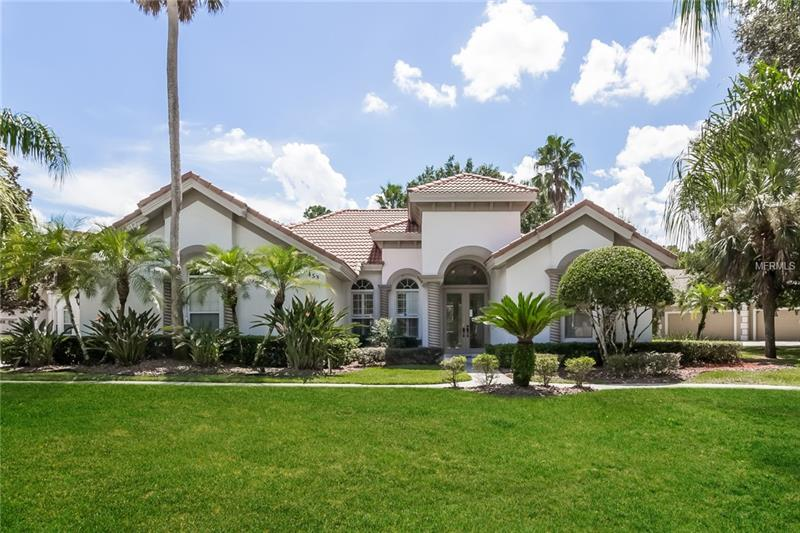 This Sanford one-story is located in a well-kept neighborhood and offers plenty of natural light, an in-ground pool, granite kitchen countertops, granite master bath countertops, hardwood flooring, and a two-car garage. Upgraded with fresh interior paint throughout. A guard-gated community, plus pool, heated spa, tennis courts, clubhouse, private sandy beach with fishing dock, are all part of the HOA.