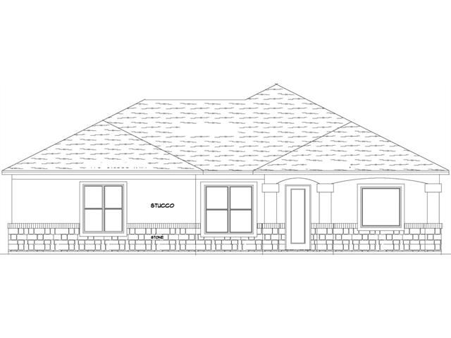 Looking for privacy? This is it! New Construction. Completion March 2018. 1899 Sq. Ft. 3 Bed/2 Bath /2 Car Garage. Large Driveway. Home faces Southwest. Shaded backyard. Large covered back patio/porch. 100% Masonry exterior. Granite throughout. EnergyStar appliances incld. HVAC. Low-E Windows. Office/Flex room. Electric fireplace. Automatic/zoned irrigation system. Beautiful oaks on property. Buyer may choose interior colors/finishes considering stage of construction. See agent/builder for details.