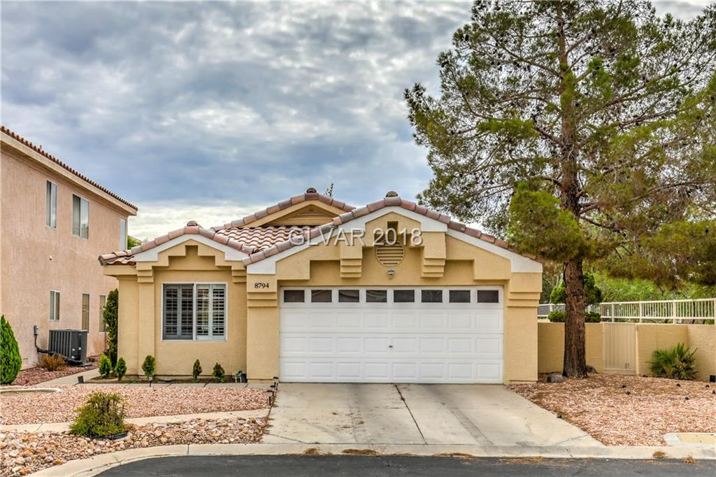 Gorgeous Single Story with 2 bedrooms and a den.  Remodeled modern kitchen with Quartz counters and stainless steel appliances. Completely remodeled bathrooms with custom cabinets and countertopes. Entire house is freshly painted.  House is located on a Cul-de-sac.  Close to restaurants, shopping, parks and freeway.