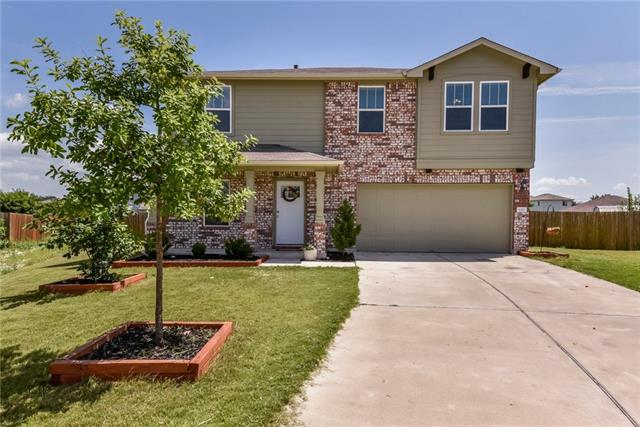 BEAUTIFULLY MAINTAINED & MOVE-IN READY!  Pristine 4 bed 2 1/2 bath on a cul-de-sac in desirable Glenwood neighborhood. Large lot with no neighbors behind. Great family size backyard with covered patio. Spacious bedrooms, large dining area, granite in kitchen, and a bonus/game room upstairs.  Perfect plan for family and close to neighborhood park and pool!   Home is equipped with a smart lock.  Washer, dryer and fridge convey!