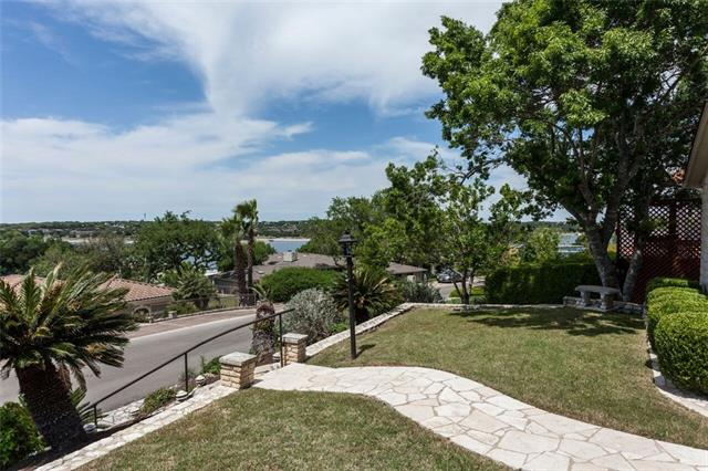 Immaculate remodel w/Lake Travis Views - coveted, original Lakeway.Open floor plan filled w gorgeous finishes/fixtures+flooring.Lake Travis views!Exemplary LTISD Schools.3 beds/2.5 baths/2 car garage/large game-office-flex room down.Beautiful yard front and back.Tree shaded dining/viewing rear patio for yr round entertaining!Amazing kitchen-Large dining island,ss appliances.Custom shutters.Large light filled master bedroom W/high ceilings.Separate vanities/Master Bath w/jetted tub.CALL AGENT FOR INFO!