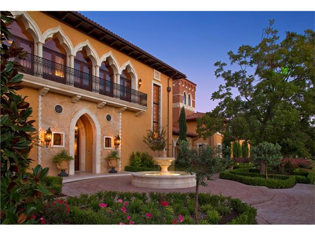 This magnificent estate inspired by the historic Venetian villas that line the Grand Canal was exquisitely crafted along nearly two hundred feet of Lake Austin waterfront. The meticulously maintained grounds of this property are set on a premium half-acre lot in the prestigious waterfront community, the Island at Mt Bonnell Shores. The home offers 11,774 sqft of opulent Austin living, luxurious pool & outdoor terraces, two enclosed boat slips, guest quarters.. all fit for an Italian aristocrat!