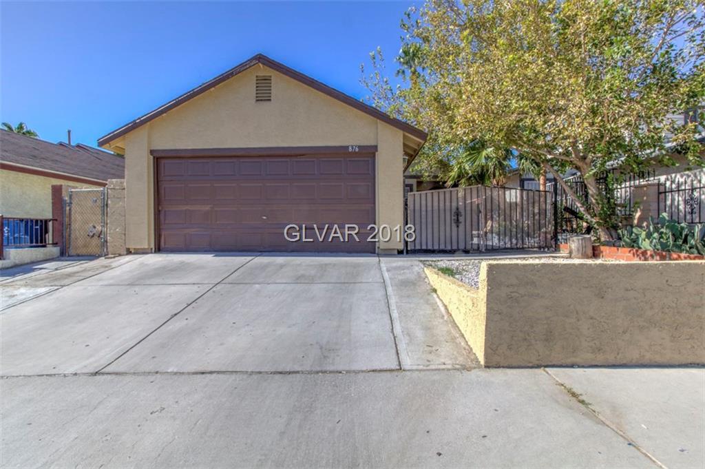 876 SHRUBBERY Lane, Las Vegas, NV 89110