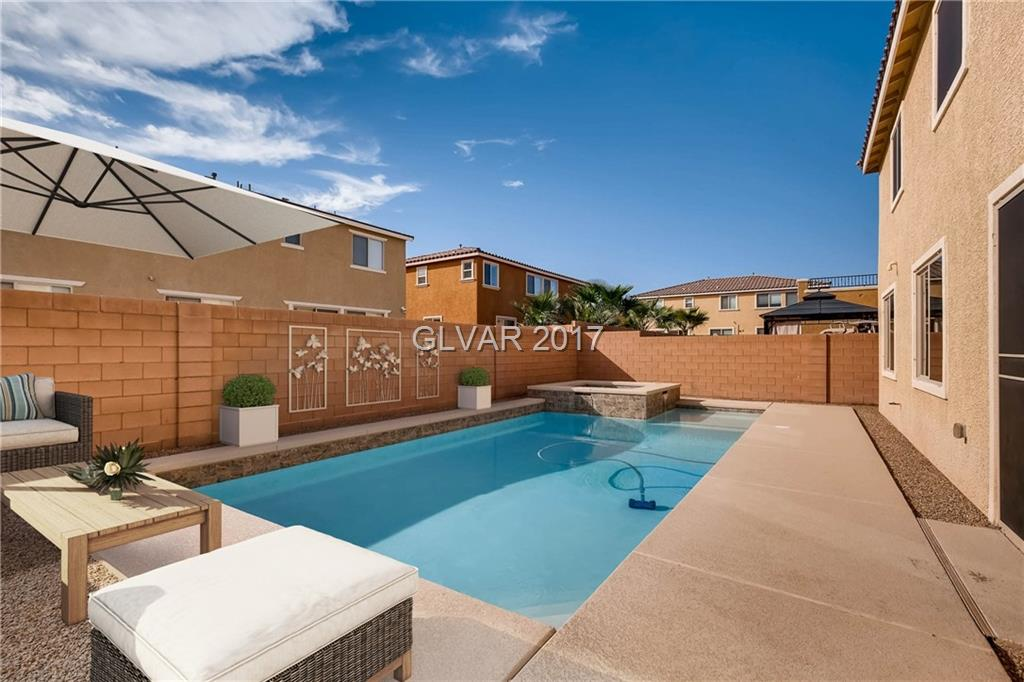 Just Reduced 10k! 6 bedroom/4 Bath 3939sq ft Home with NEW 40x18 ft POOL and SPA. 1 Bedroom and full bath downstairs! Gourmet kitchen features All appliances in stainless steel, granite countertops, W/I pantry & 8x10 foot island w/breakfast bar. Upstairs a full laundry room and 19x16 loft. 3 car garage with storage racks. June 2017 New A/C units with warranty and new solar screens added this year.