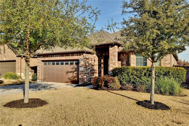 Pride of ownership and community feel like no other. 1.5 story provides living and bedrooms down with only a game room and bathroom upstairs. Surround Sound speakers with seperate controls throughout. Walk-in attic is decked to provide plenty of extra storage. Dedicated office/study with french doors. NO REAR NEIGHBORS provide views from master, living and backyard.