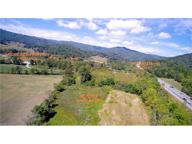Prime development property with high exposure to I-40. This property is great for large box stores or outlet stores. Located minutes from Great Smoky Mountains, Blue Ridge Mountains, Downtown Waynesville, Maggie Valley and Asheville.