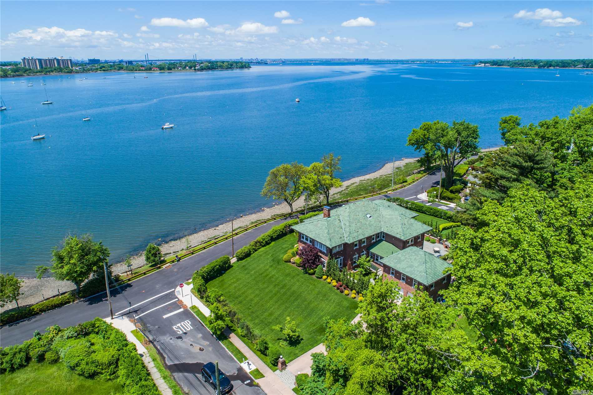 """Shoreview Manor"" Evokes A Sense Of Grandeur At Every Turn.  Steeped Rich In History, This Elegant 6 Bedroom Waterfront Estate Offers All The Modern Day Amenities For Today's Lifestyle Coupled With Original Features, Like 10Ft Ceilings, Gracious Principal Rooms, Panoramic Water Views & Architectural Artistry That Make This Residence A Unique Treasure Amidst The Long Island Sound."