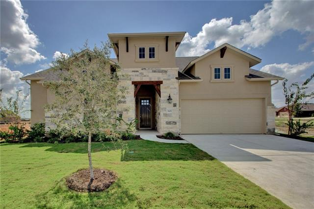 This 1 story features open floor plan, covered patio, fireplace in family room &