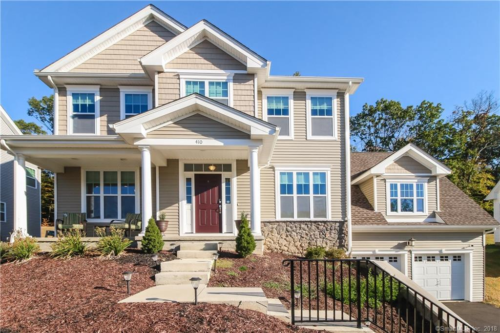 Nestled on a quiet cul-de-sac, this Roosevelt Woods colonial offers all the amenities needed for modern day living.  Built in 2015, this elegant home features a welcoming front porch. A large foyer leads you into the formal living room and dining room with lovely millwork and 9' ceilings.  A spacious, main level family room boasts cathedral ceilings, gas fireplace and opens into the gourmet kitchen with upgraded appliances, granite counter tops and service island, all great for entertaining.  Hardwood floors throughout complete the main level.  A large, winding staircase brings you to the upper level that features a MBR suite, master bath with soaking tub and separate shower.  In addition, there are 3 bedrooms and a guest bath.  All bedrooms feature hardwood floors.  The unfinished basement adds an additional 1121 sq ft of potential living space and is plumbed for a full bath.  The backyard overlooks Roosevelt Forest and has direct access to many hiking trails the forest offers.  Make this your home for the New Year!