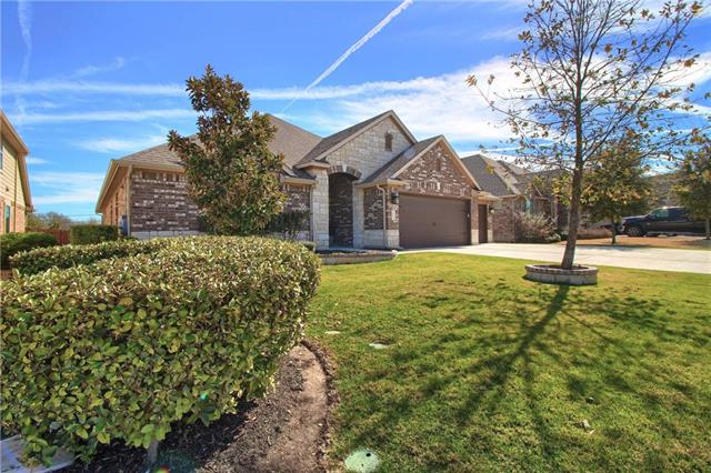 Make an appointment NOW to see this amazing home in Falcon Pointe! Backing to greenbelt & immaculately kept, the open concept floorplan is a dream! Large kitchen w/tons of counter space, double ovens, gorgeous wood floors throughout living areas, huge formal dining room & spacious secondary beds & master suite w/ensuite bath. Huge extra room w/large walk-in closet, can be media/game/living room/den/office space. Beautiful yard feat. covered patio w/views to green belt!