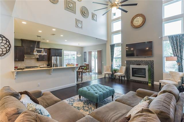 Gorgeous Custom Built Home  In the Heart of North Austin in a very Desirable neighborhood.  Built with Fine details & extensive list of upgrades.  Soaring 22 Feet Ceiling in the living area with stunning open floor plan. No other home like it in the neighborhood with a unique extravagant open floor plan.  Everything hand picked & selected from start to finish. Close to the Domain, Parks, Shopping, Highway, Major Employers.