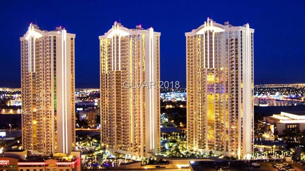 Beautiful Penthouse Studio 3603 on the 36 floor with Strip views, including City Center Views. Designer Furnished & Turnkey! Jacuzzi Tub, Plasma TV, Custom Cabinetry w/ Granite Counters. Owner's access to Pool/Spa, Lounge, Gym, Valet, Concierge & MGM Grand's Casino, Shopping & Restaurants.