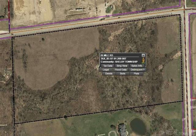 Excellent Site for Commercial or Condo Development etc.  Subject to Rezoning.  Water and Sewer to be installed at purchasers expense after closing.
