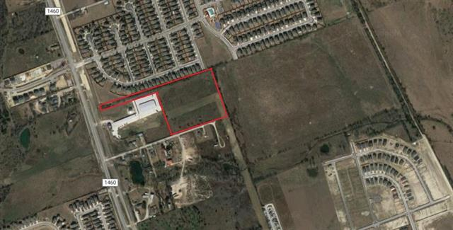 Outside the city limits, includes a 10.01 acre lot and a 1.14 acre easement with access to AW Grimes Blvd. Adjacent to residential neighborhoods to the north (La Conterra), east and south (Westhaven), and west (it is across FM 1460 from Teravista). Ready for development, great location for residential or multifamily housing, retail, professional office, storage units, warehouse/industrial, etc. Located 3 miles from IH-35 and 4 mi. from Toll 130.