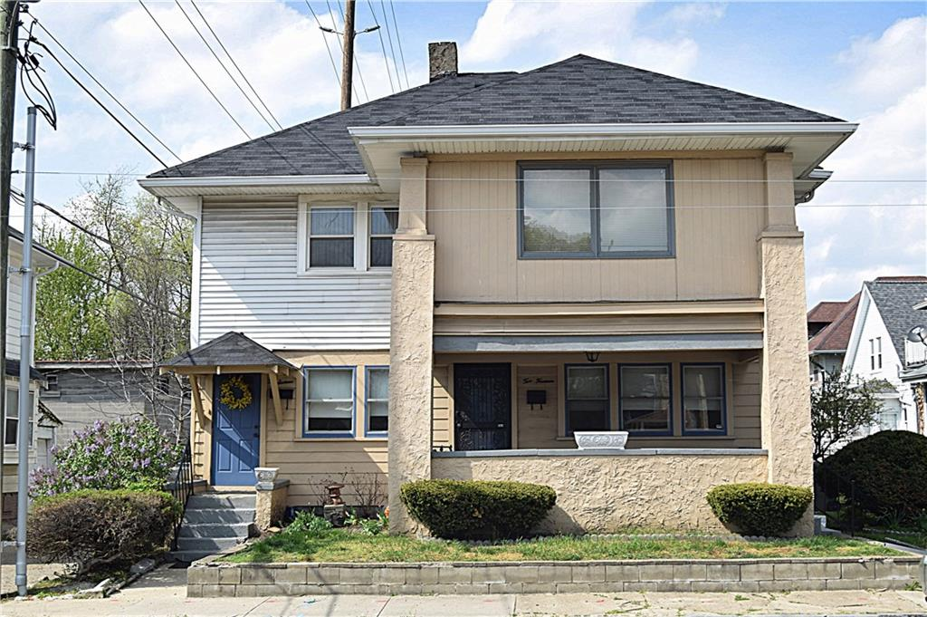 Multi-Family Duplex. 2 Units w/one bed, one bath each. There is a top unit and lower level unit.