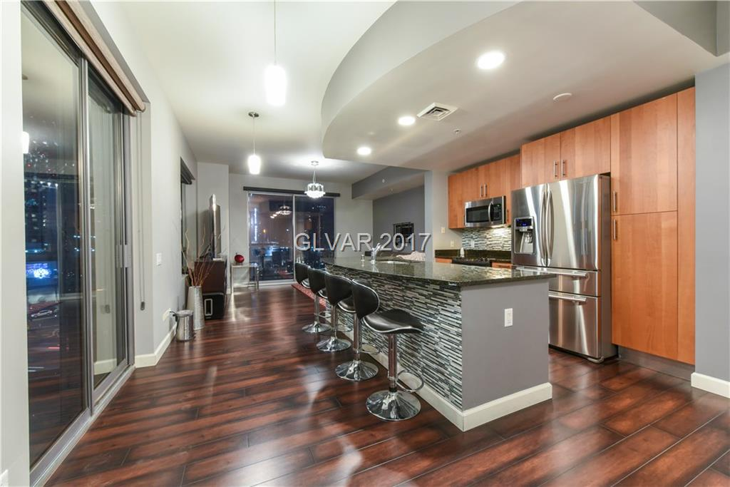 Hold Up! 3 Bedrooms overlooking the Las Vegas Strip for under $400K?! Wow! Upgraded wood floors, stainless steel appliances, granite counters, 3 balconies, and washer/dryer in unit. Allure Las Vegas is located why the corner of Las Vegas Blvd and Sahara. Enjoy the community pool, valet, fitness center, and social calendar. Condo can be purchased with all furniture for additional $10K.