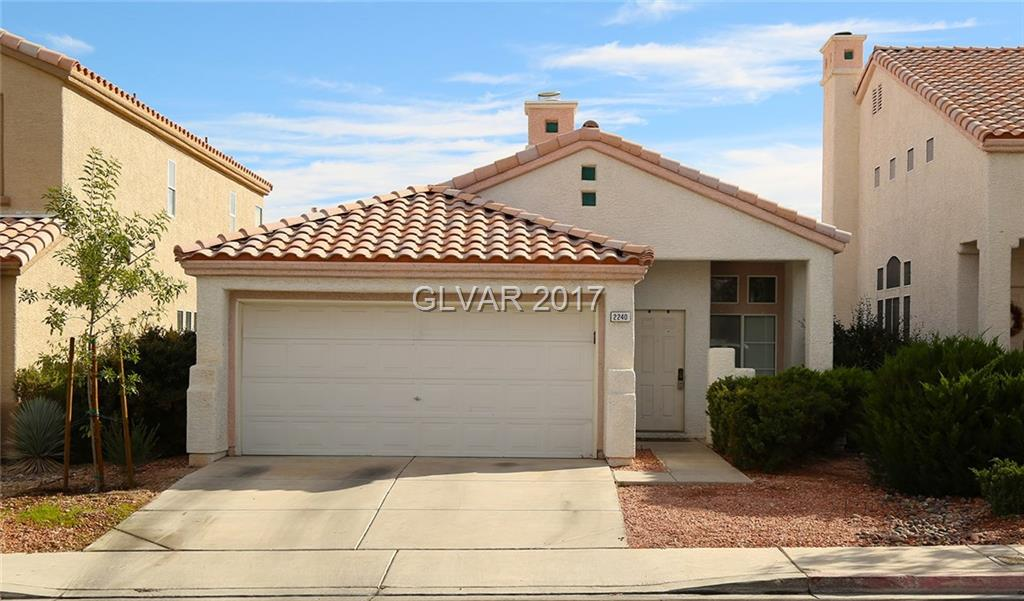 2240 JUNIPER BERRY Drive, Las Vegas, NV 89134