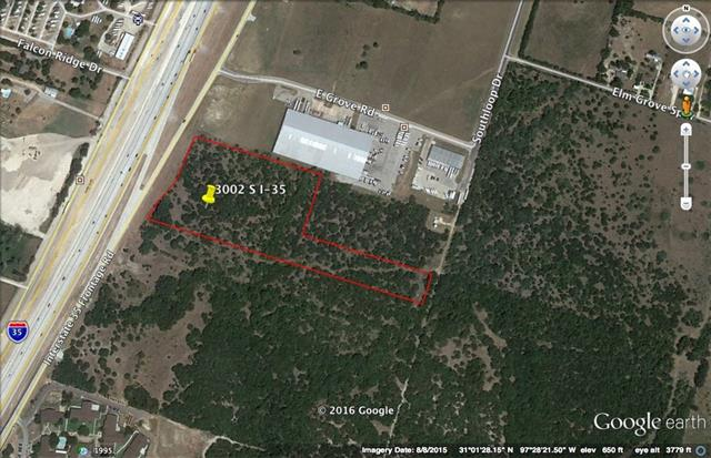 10 acres I-35 frontage across from Bell County Expo Center. All utilities available. Huge potential!