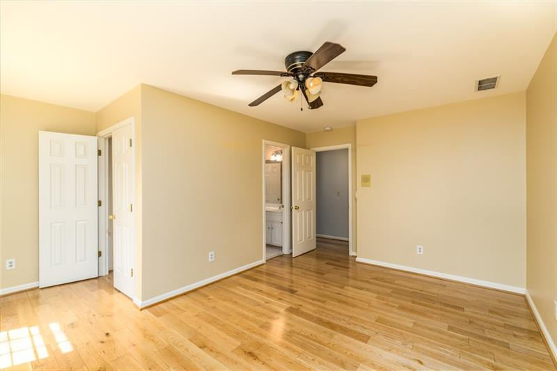 ALL bedrooms have hardwood floors & walk-in closets!