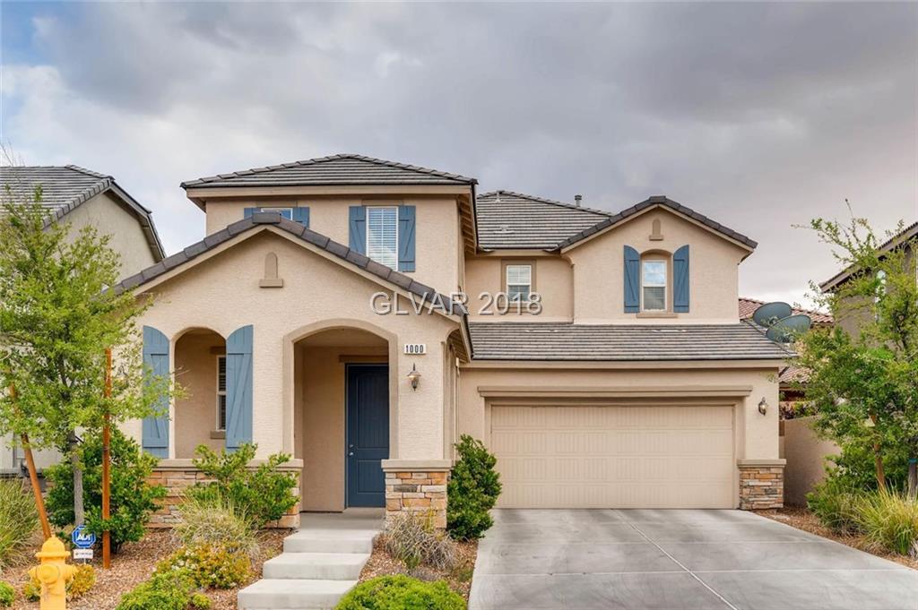 1000 BARONET Drive, Las Vegas, NV 89138