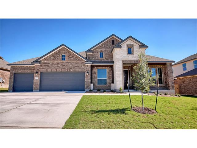 "NEW Scott Homes 4 Bed; 2-1/2 bath; study; formal dining; 3-car garage 1-story on 80' Wide Homesite. Amazing floor plan/Great location!! Gorgeous 4-sided brick w/stone accents/covered patio. Elegant crowned ceiling at entry/master. Gourmet kitchen w/huge center island; undermount sink w/high arc faucet; upgraded stainless appliances; Custom Built Cabinetry w/42"" uppers. Oversized 42""x48"" shower in Master plus built-in tub/tiled skirt.Energy Audit w/HERS cert."
