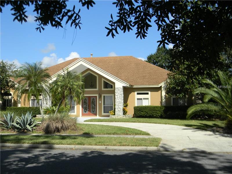 ** Beautiful 'Custom Home' in LAKE FOREST, SANFORD, FLORIDA ***  Residence offers 4 Bedrooms & 3 Baths on a 'large corner lot' with