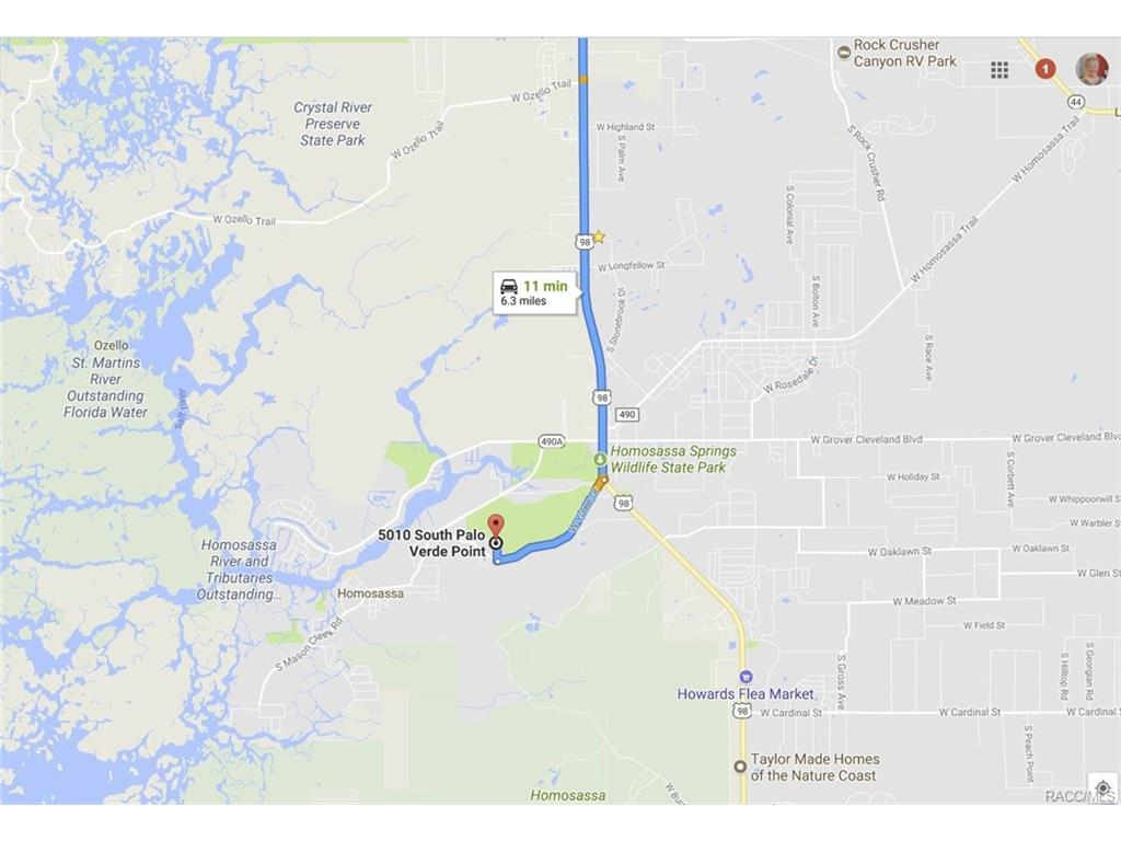 Homosassa Florida Lots and Land for Sale