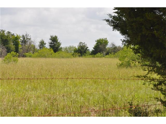 Want to be secluded? Here is approx. 40 acres (subject to survey) with road frontage. Electric and community water is in the area, buyer to verify availability. Has 2 nice stock ponds, nice size native grass pasture and partially wooded.  Come make it your own. The quiet neighborhood and country setting is a great place to call home. Sellers are licensed realtors in the State of Texas. Restricted to NO MOBILE HOMES.