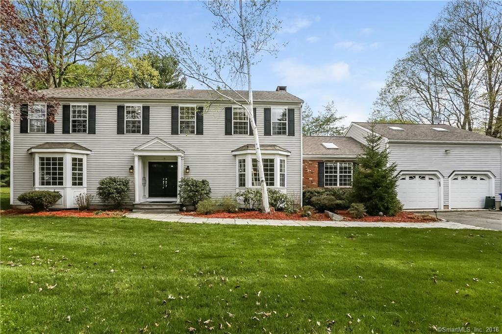THIS STATELY COLONIAL LOCATED IN THE HEART OF THE WOLFPIT SECTION FEATURES OVER 3,600 SQ. FT., 4 BEDROOMS, 2 FULL BATHS, 2 FIREPLACES, 2 CAR GARAGE AND LEVEL BACKYARD ON .76 ACRES.  ENTERTAIN FAMILY AND FRIENDS IN THE SPACIOUS EAT-IN KITCHEN WITH ISLAND AND BREAKFAST BAR WITH SLIDING DOORS LEADING TO THE PRIVATE BACK PATIO. THE BEAUTIFUL FORMAL LIVING ROOM AND DINING ROOM HAVE A FIREPLACE AND FRENCH DOORS WHICH ALSO LEAD OUT TO THE STONE PATIO. MASTER BEDROOM SUITE WITH WALK-IN CLOSET AND SPA. CONVENIENT MAIN FLOOR LAUNDRY ROOM, GENEROUS SIZE BONUS ROOM AND FULLY FINISHED BASEMENT.  ENJOY THE COUNTLESS FEATURES THIS HOME HAS TO OFFER!