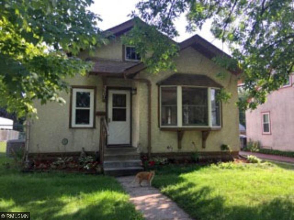 Charming stucco bungalow close to Lake Nokomis, schools, parks, & light rail to downtown & airport. Original woodwork, hardwood floors, bay window in living room, 2 bedrooms on main floor, granite snack bar, stainless steel appl, large fenced in yard with no alley in back. Room for a larger garage if desired. 3rd bedroom with egress window & laundry on lower level.