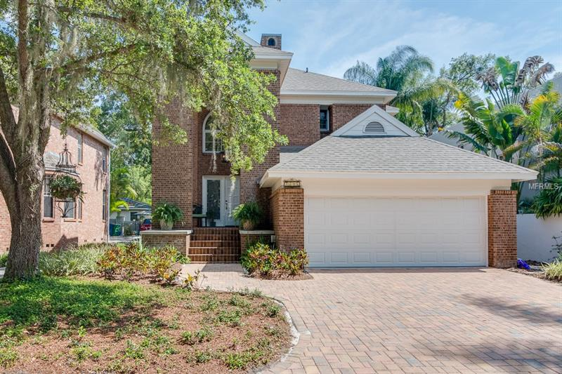 QUALITY CUSTOM BRICK HOME ON QUIET CUL DE SAC RIGHT OFF DESIRABLE BAYSHORE BOULEVARD. BUILT BY ONE OF SOUTH TAMPA'S PREMIER BUILDERS AS HIS PERSONAL HOME. FLAWLESSLY UPDATED IN 2016. THIS FEELS LIKE A BRAND NEW HOME! BOASTING TRAVERTINE AND WIDE OIL RUBBED HARDWOOD FLOORS. ADDITIONAL FEATURES INCLUDE:  CROWN MOLDING, TOP OF THE LINE FIXTURES AND UPGRADED ALL WOOD WINDOWS. THE BRAND NEW WHITE KITCHEN IS A CHEF'S DELIGHT, NEW CUSTOM CABINETS, STAINLESS APPLIANCES, DRAMATICALLY ACCENTED BY A FULL MARBLE BACK SPLASH. THE OPEN GREAT ROOM HAS AN APPEALING FIREPLACE, AS WELL AS BUILT-INS. GREAT ROOM AND DINING ROOM OPEN TO THE INVITING BRICK DECK...IDEAL FOR ENTERTAINING. THE IMPRESSIVE STAIRWAY IS THE CENTERPIECE OF THE ENTRY FOYER. UPSTAIRS THE GENEROUS BEDROOMS AND THE HUGE MASTER SUITE WILL SATISFY THE MOST DISCRIMINATING BUYER. COME AND VISIT THIS JEWEL OF A PROPERTY, A REMARKABLE VALUE.