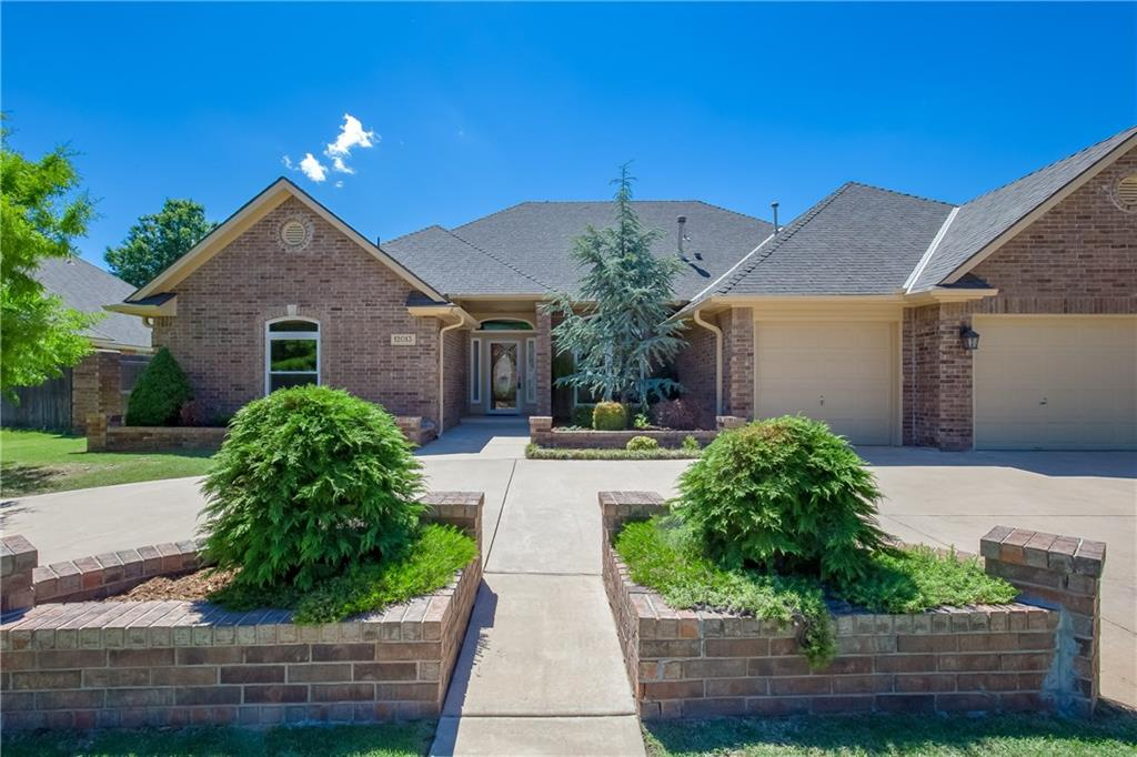 Large and spacious brick home in Rivendell Norman OK neighborhood.