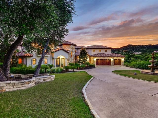 This Tuscan style, water front estate is complete with your own vineyard! Features include hand troweled walls, Venetian plaster, a soaring, domed ceiling and an elegant curved stairwell. Open concept floor plan includes mitered glass walls creating a resort style feel, bringing the outdoors in. Great energy efficiency w/ 6,000 Watt Solar system! Outstanding theater & pool table room leading to a covered veranda. Upstairs office/bonus room and home gym! Property has water access for SUP, kayaking etc.